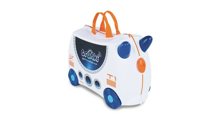 Trunki Skye the Spaceship Glow in the Dark Ride-On Suitcase