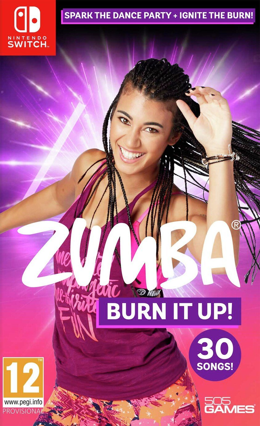 Zumba: Burn it Up Nintendo Switch Pre-Order Game