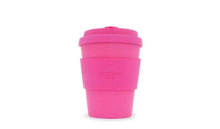 Ecoffee Cup Pink Matte Travel Mug - 340ml