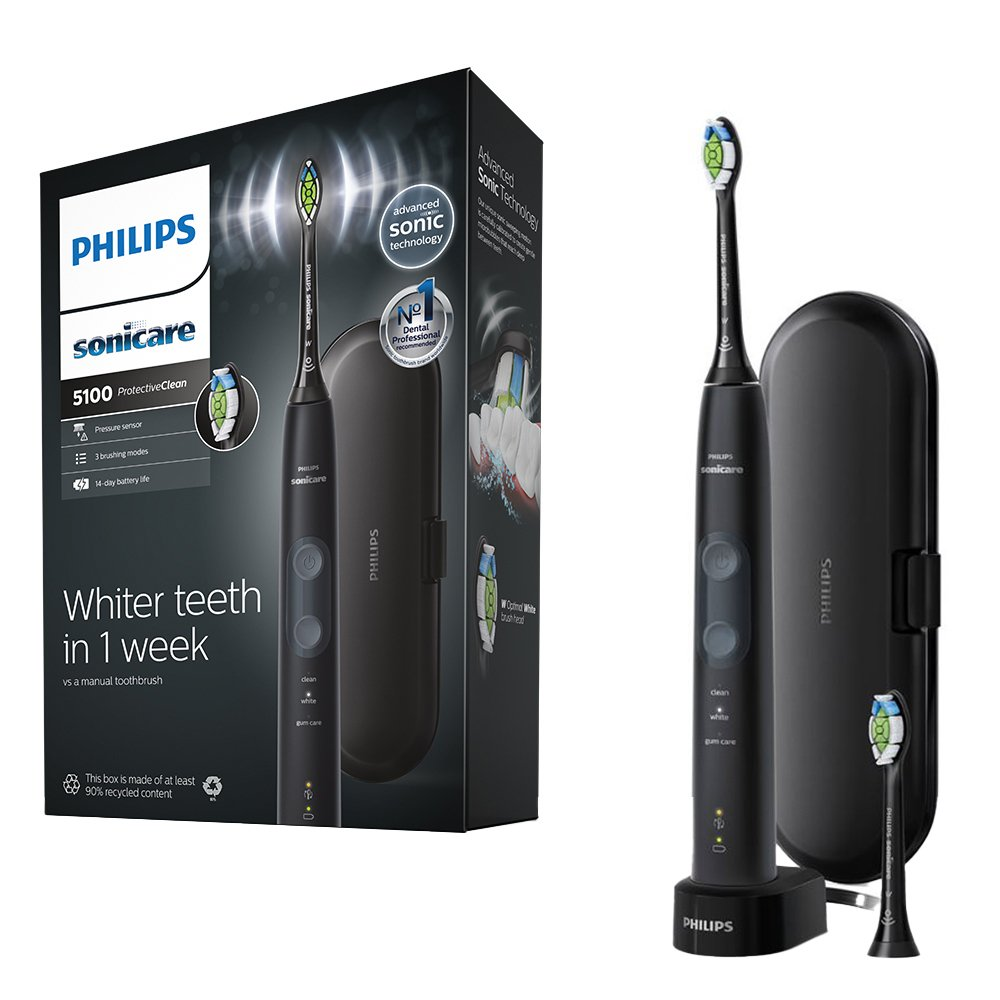 Philips ProtectiveClean 5100 Electric Toothbrush - Whitening