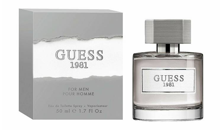 Buy Guess 1981 for Men Eau de Toilette - 100ml | Aftershave | Argos