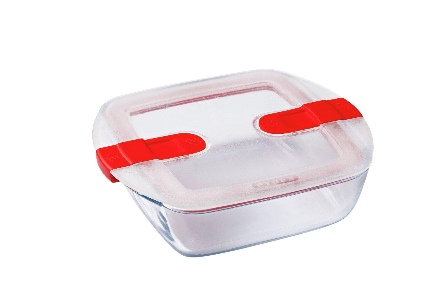 Pyrex Cook & Heat Large Square 1L Dish