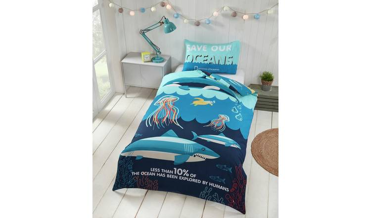 National Geographic Ocean Bedding Set - Single