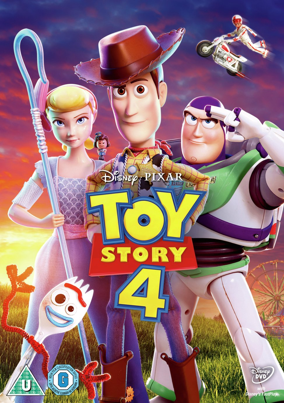 Toy Story 4 DVD
