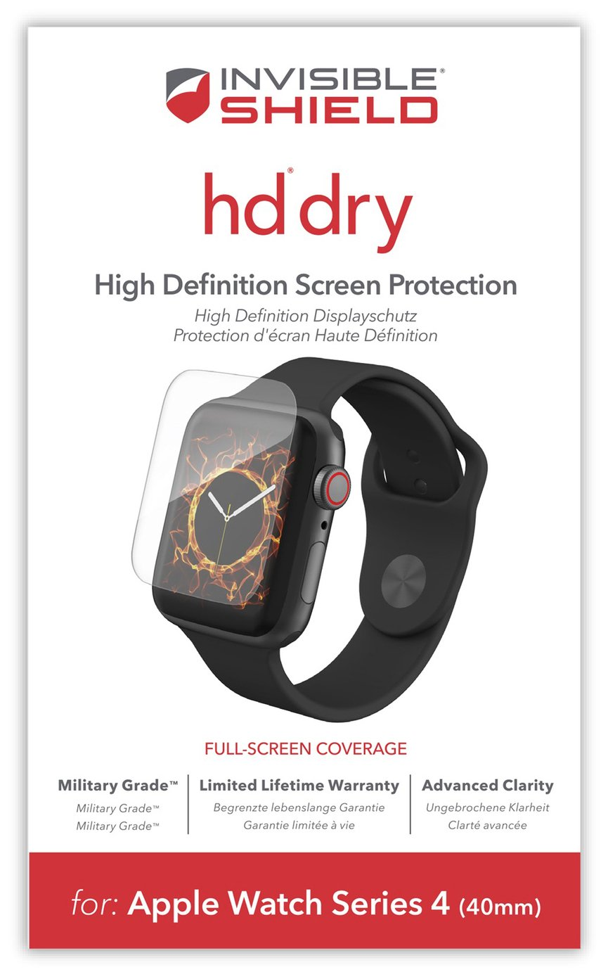 Zagg InvisibleShield HD Apple Watch 4 40mm Screen Protector