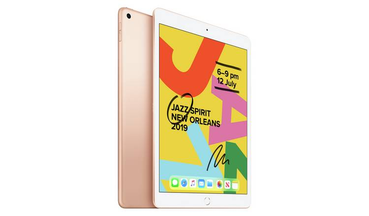 iPad 2019 7th Gen 10.2in Wi-Fi 128GB - Gold