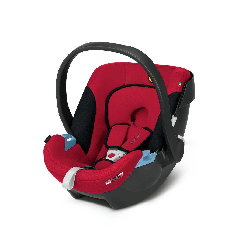 Cybex Aton Scuderia Ferrari Group 0+ Baby Car Seat - Red