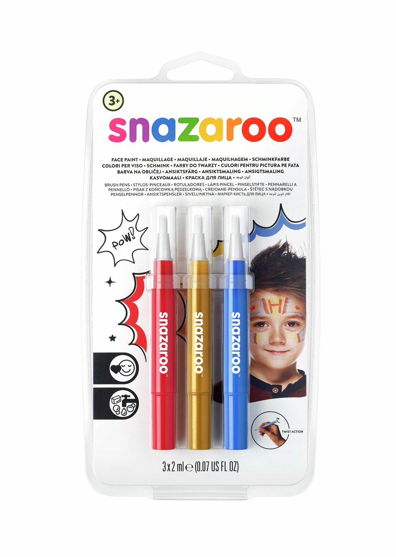 Snazaroo Brush Pen Adventure Set