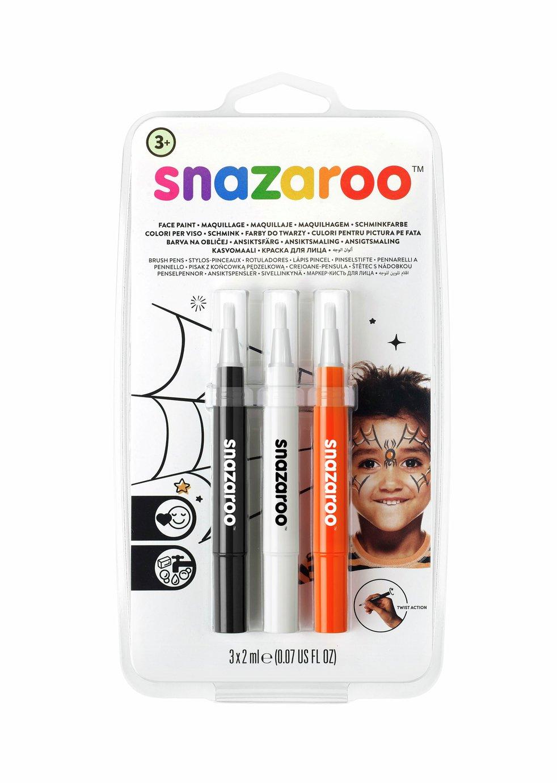 Snazaroo Brush Pen Halloween Set