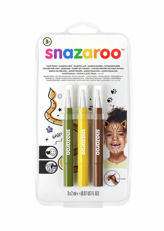 Snazaroo Brush Pen Jungle Set