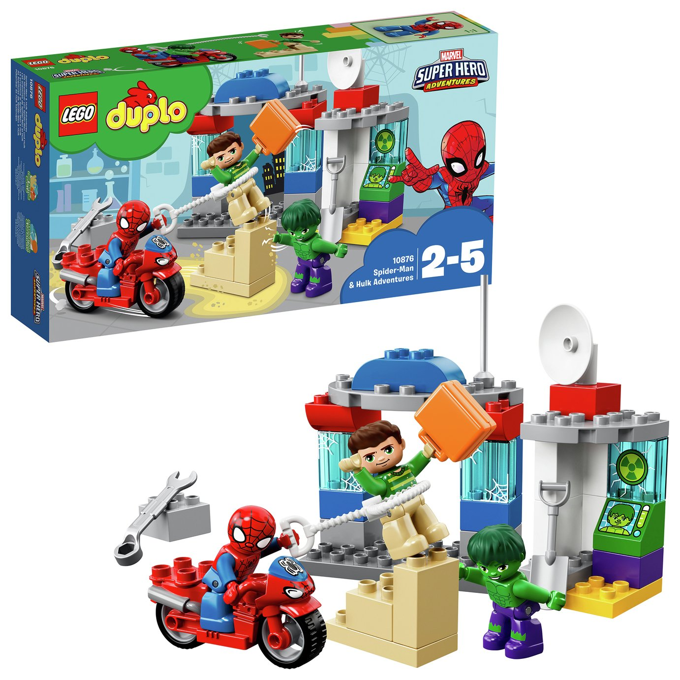 LEGO DUPLO Sipder-Man and Hulk Adventures - 10876