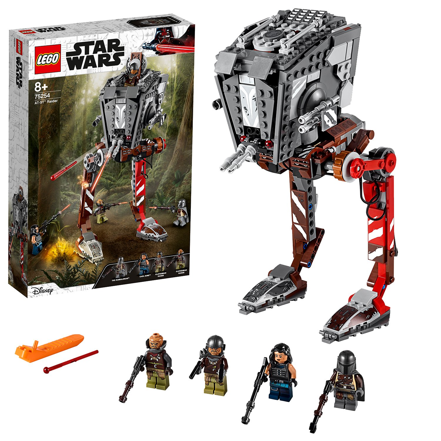LEGO Star Wars Mandalorian AT-ST Raider Set - 75254