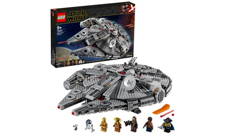 LEGO Star Wars Millennium Falcon Building Set - 75257