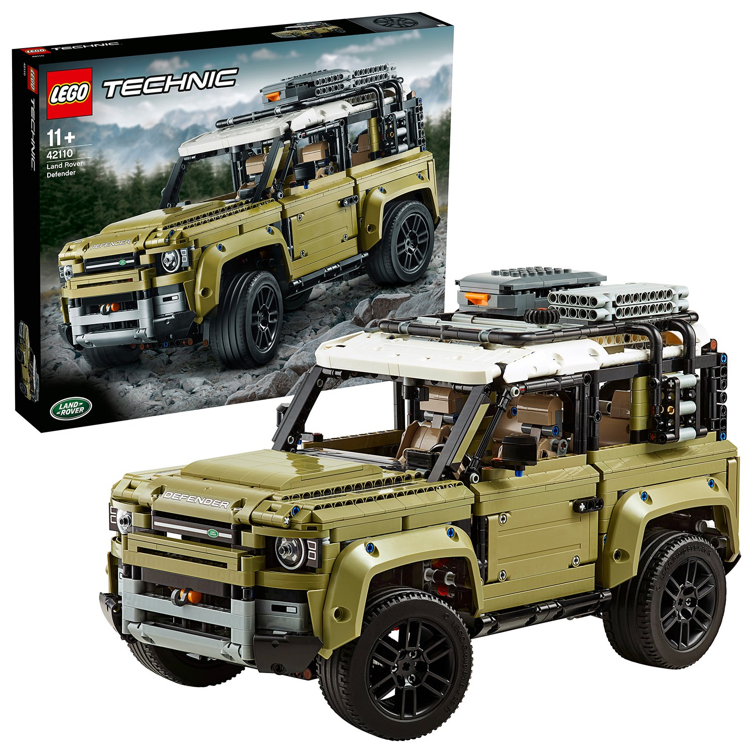 Image of LEGO Technic Land Rover Defender Collector's Model Car 42110