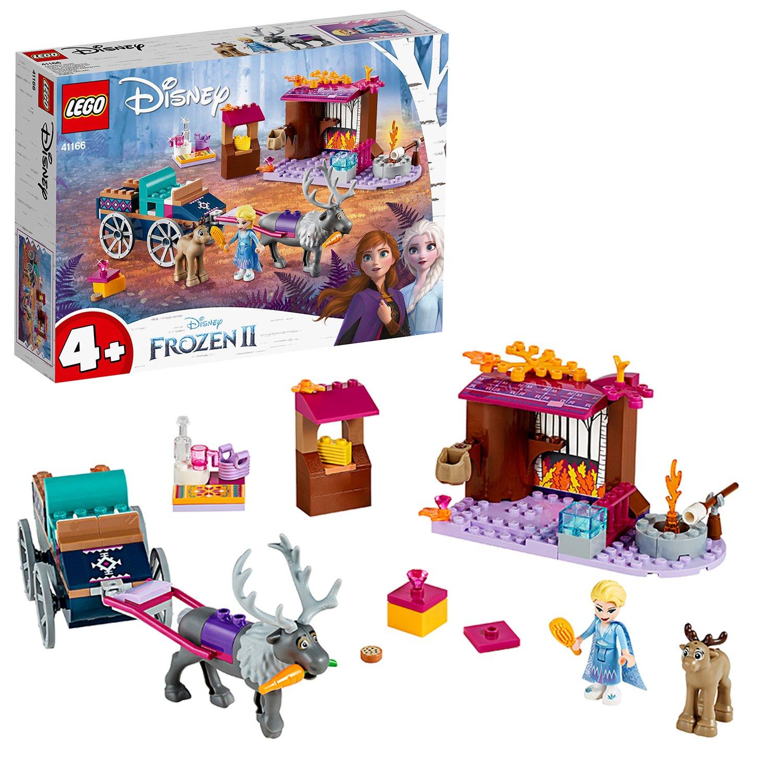 LEGO Disney Frozen II Elsa's Wagon Adventure Toy - 41166