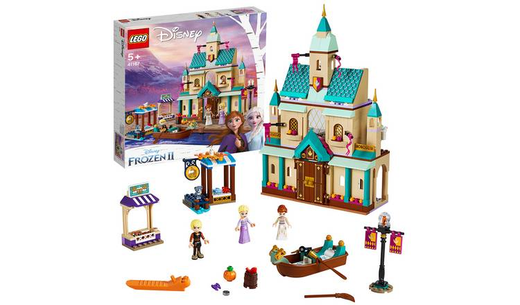 LEGO Disney Frozen II Arendelle Castle Village Toy - 41167