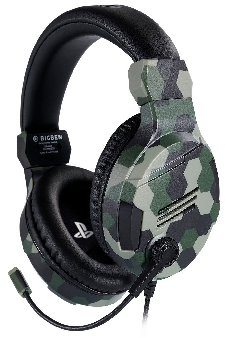 Official V3 PS4, PC Headset - Camo Green