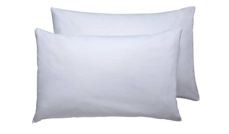 Argos Home Cotton Soft Pair of Pillow Protectors