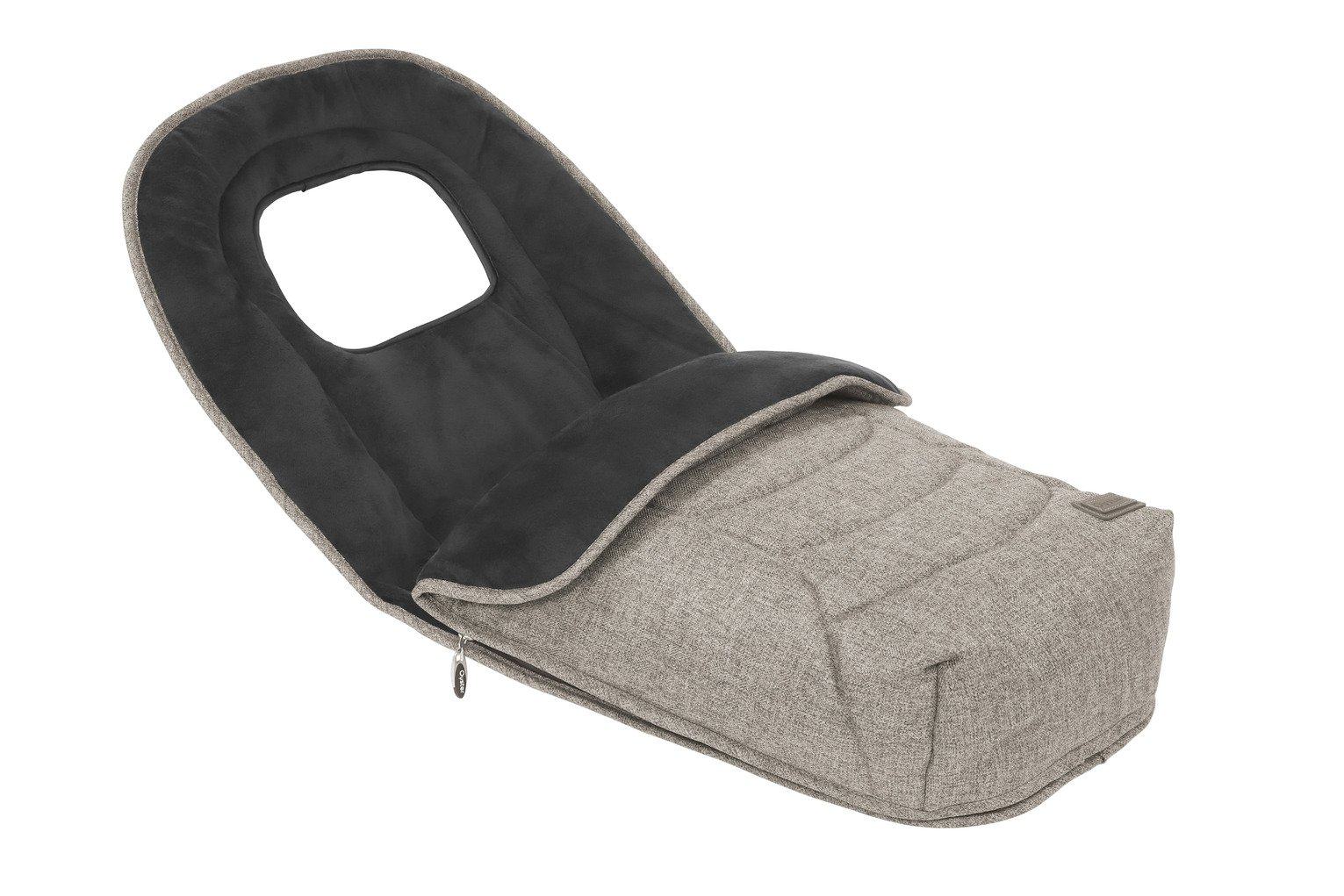 Oyster 3 Footmuff - Pebble