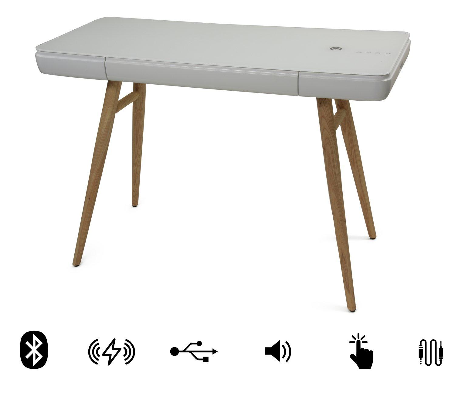 KOBLE Bodie Desk - White