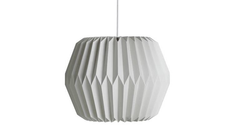 Argos Home Skandi Paper Shade - Grey