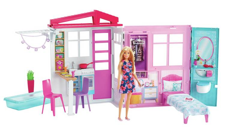 Barbie House and Doll Playset