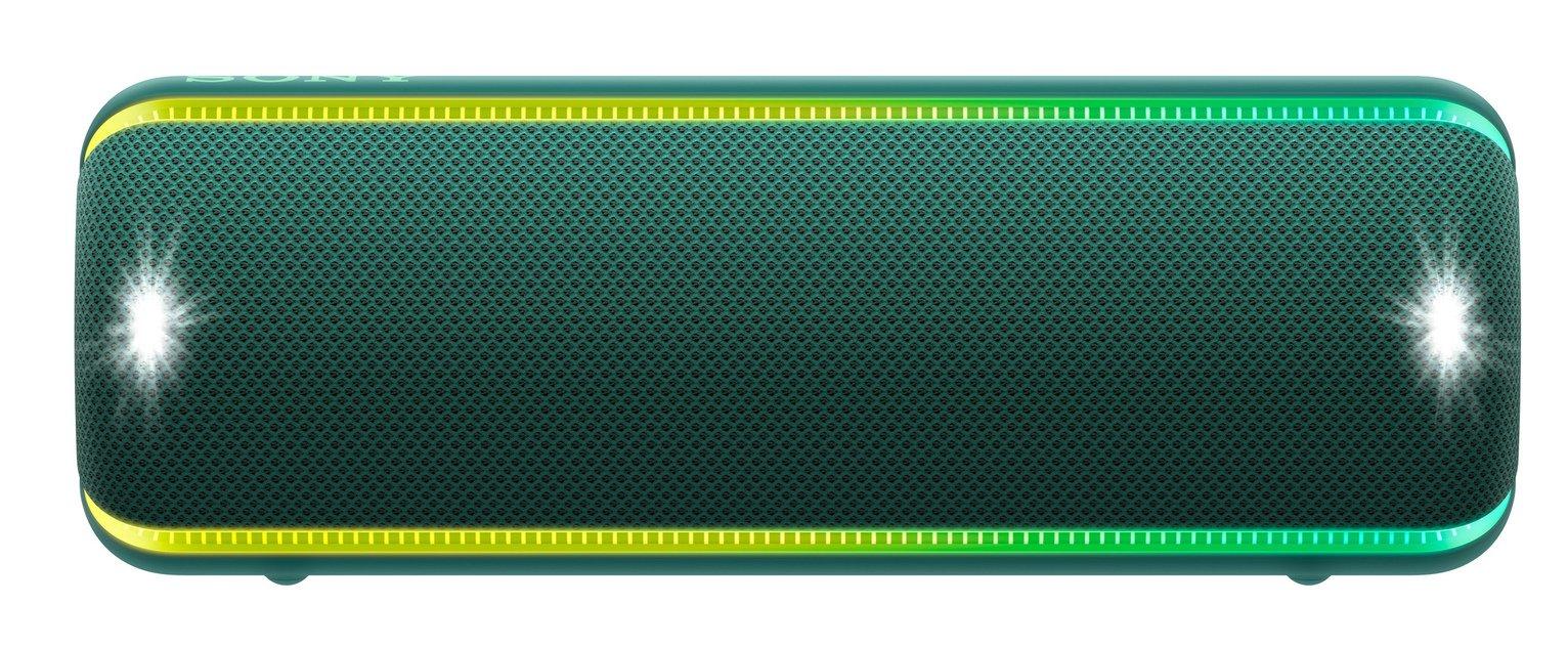 Sony SRS-XB32 Portable Wireless Speaker- Green