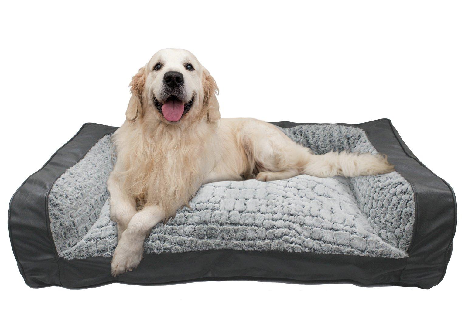 Pet Grey Sofa Bed - Large