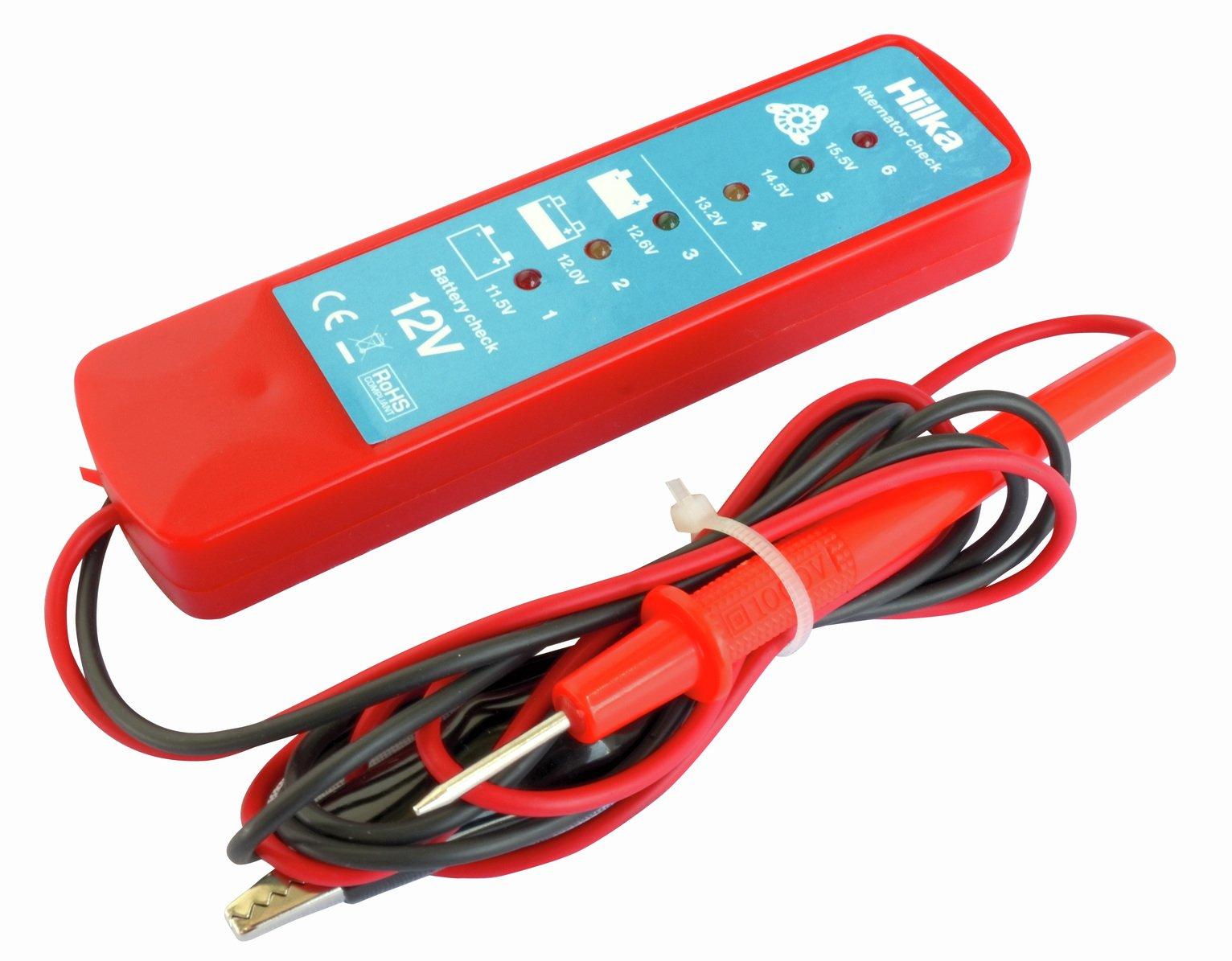 Hilka Battery & Alternator Tester