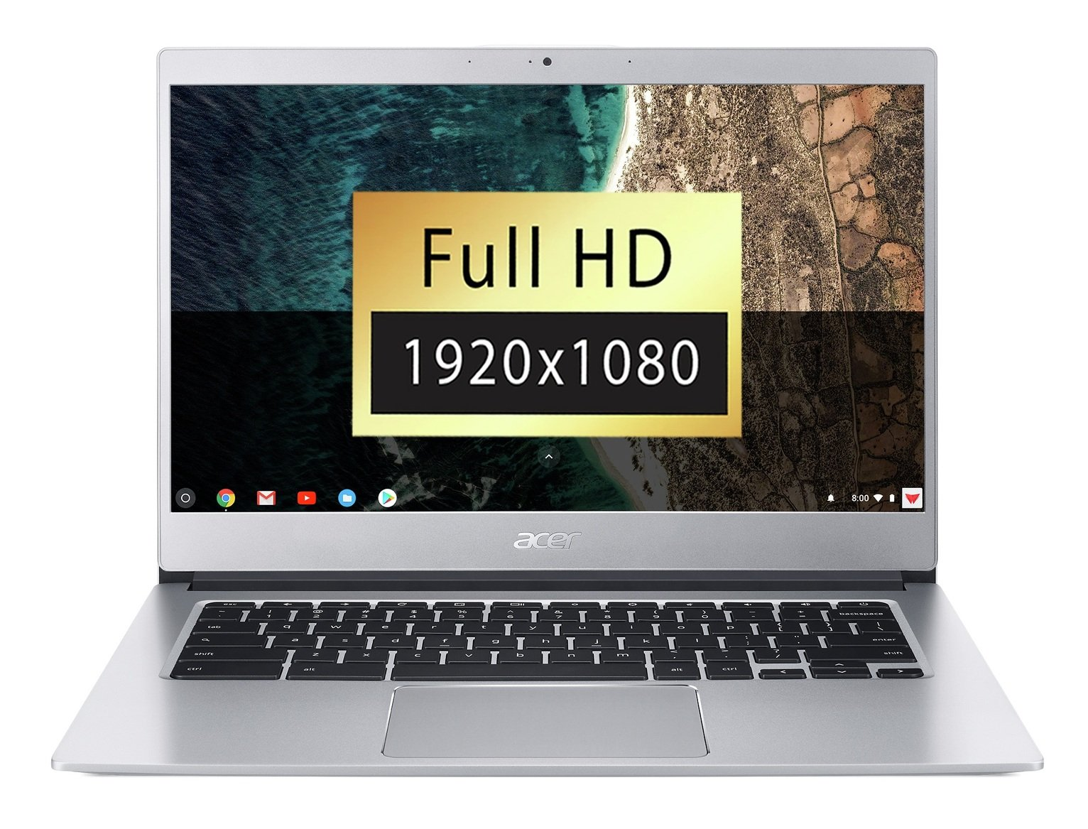 Acer CB514-1H 14 Inch 4GB 64GB FHD Touchscreen Chromebook