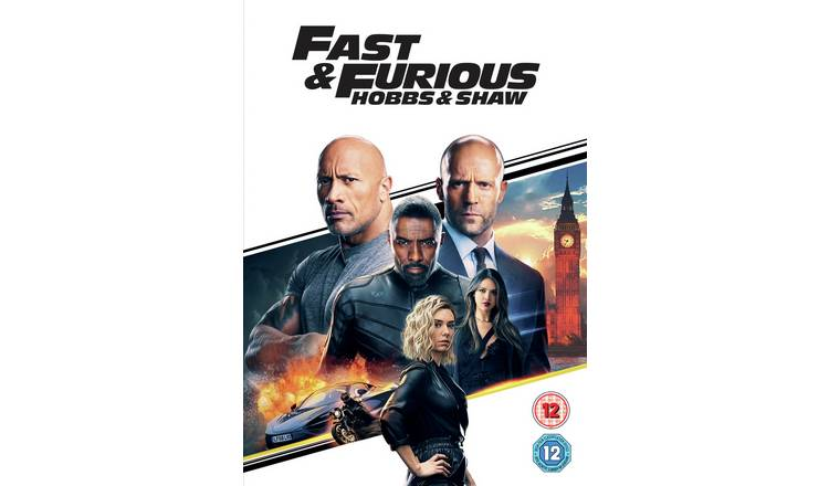 Fast & Furious Presents Hobbs & Shaw DVD