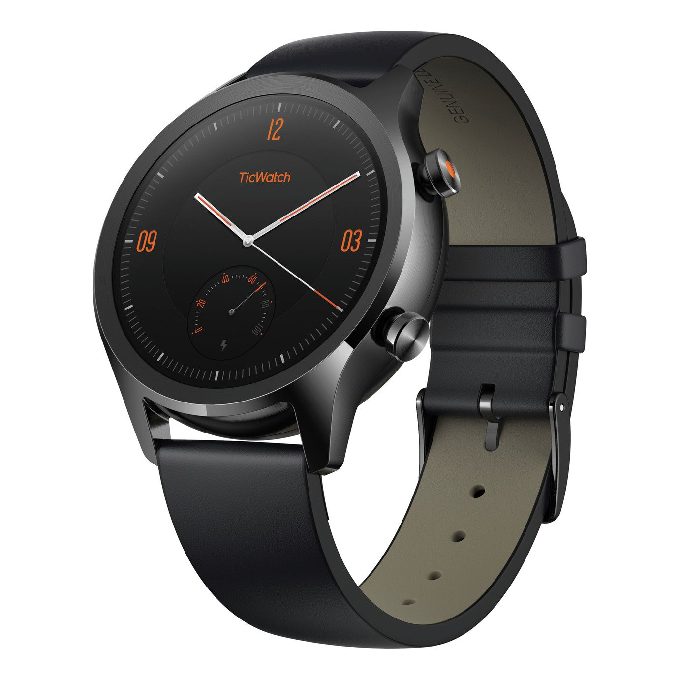 TicWatch C2 Smart Watch - Black