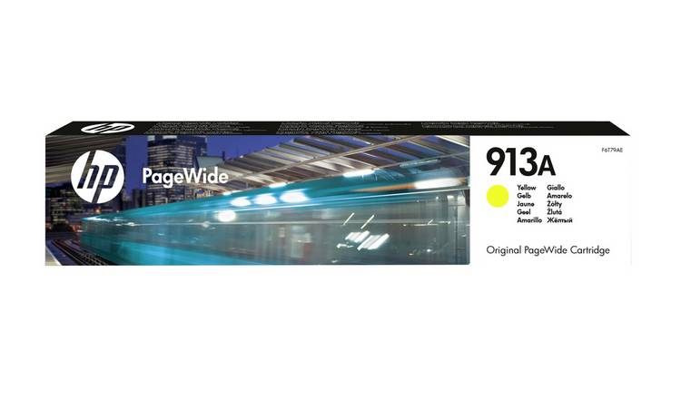 HP 913A PageWide Original Ink Cartridge - Yellow