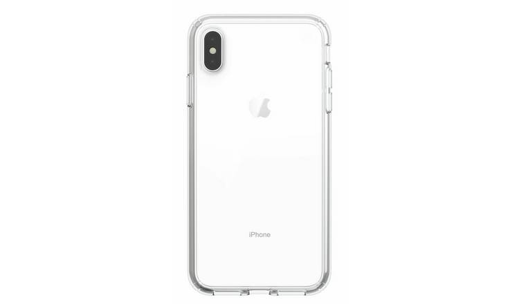 Speck Presidio iPhone XS/X Mobile Phone Case - Clear