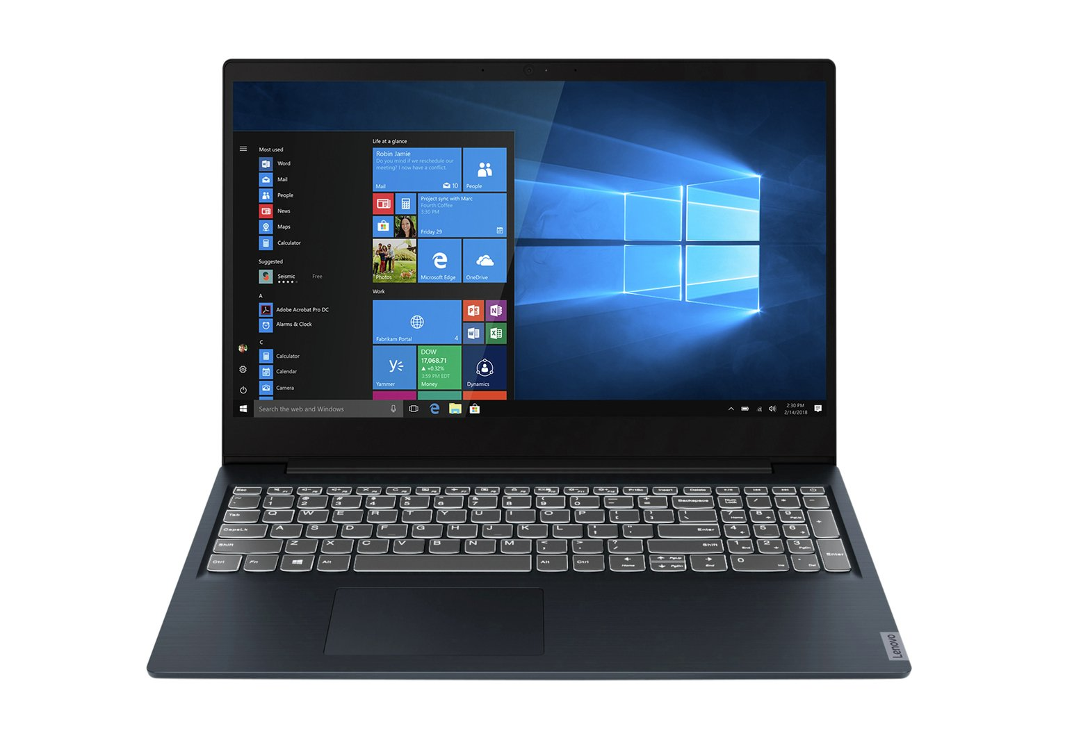 Lenovo IdeaPad S340 15.6in Ryzen3 4GB 128GB FHD Laptop -Blue