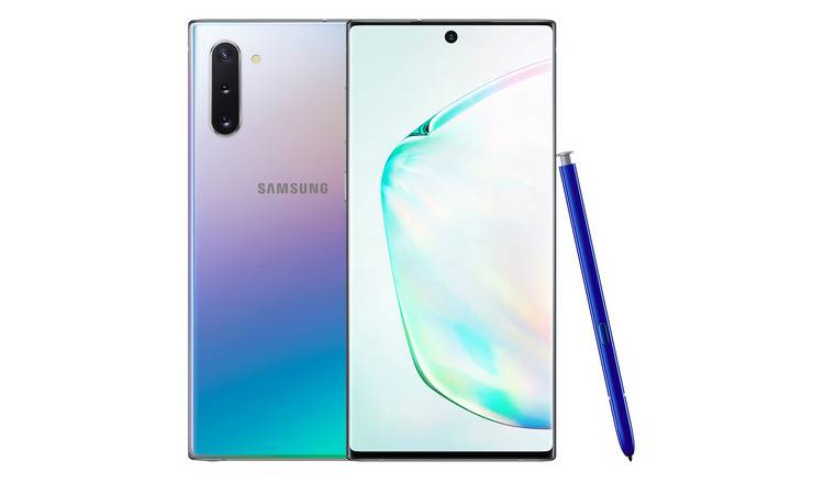 SIM Free Samsung Galaxy Note10 256GB Mobile Phone – Glow