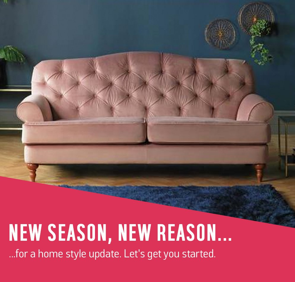 New season, new reason... for a home style update. Let's get you started.