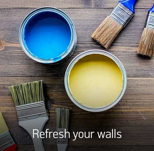 Refresh your walls.