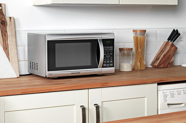 Microwave buying guide.