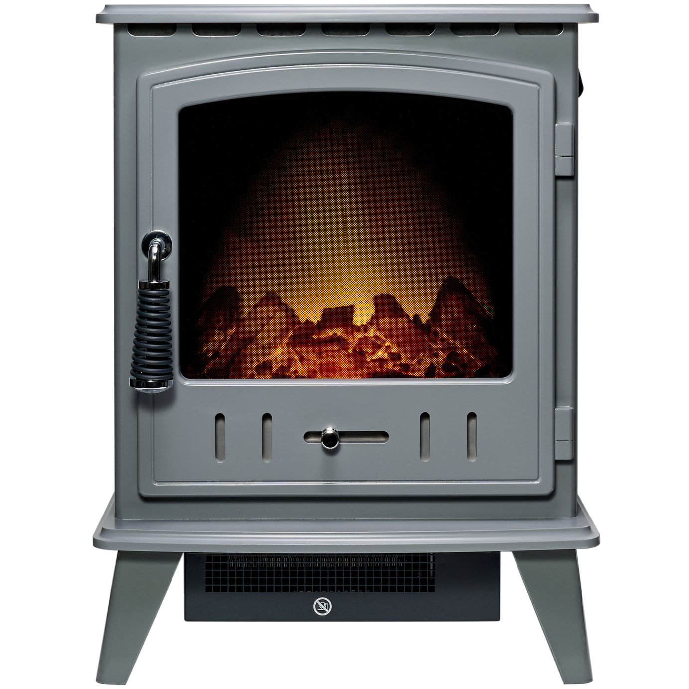 Adam Aviemore Electric Stove – Grey