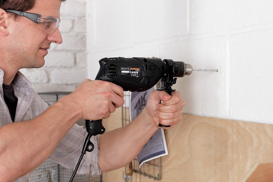 What is a corded impact drill?