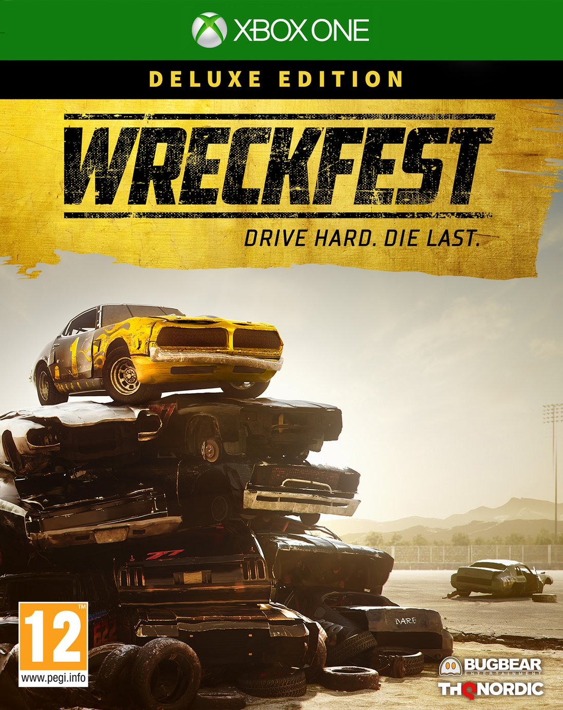 Wreckfest: Deluxe Edition Xbox One Game