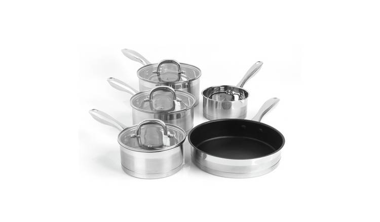 Salter Timeless Collection 5 Piece Pan Set