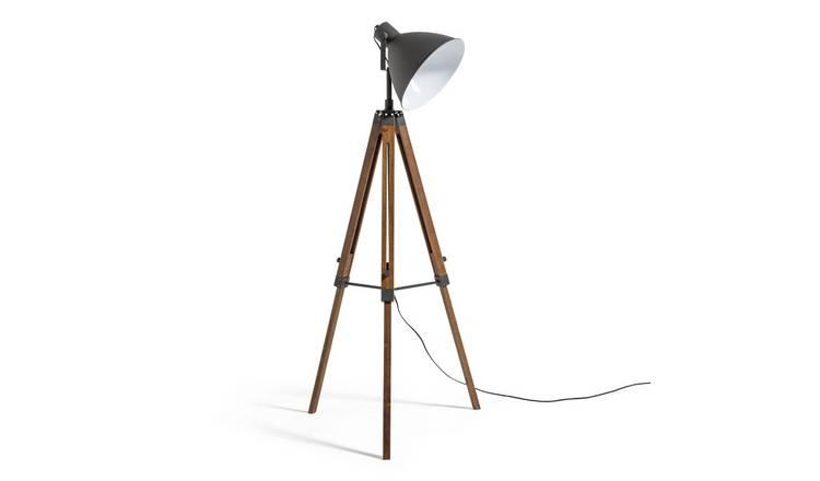 Buy Argos Home Industrial Tripod Floor Lamp | Floor lamps | Argos
