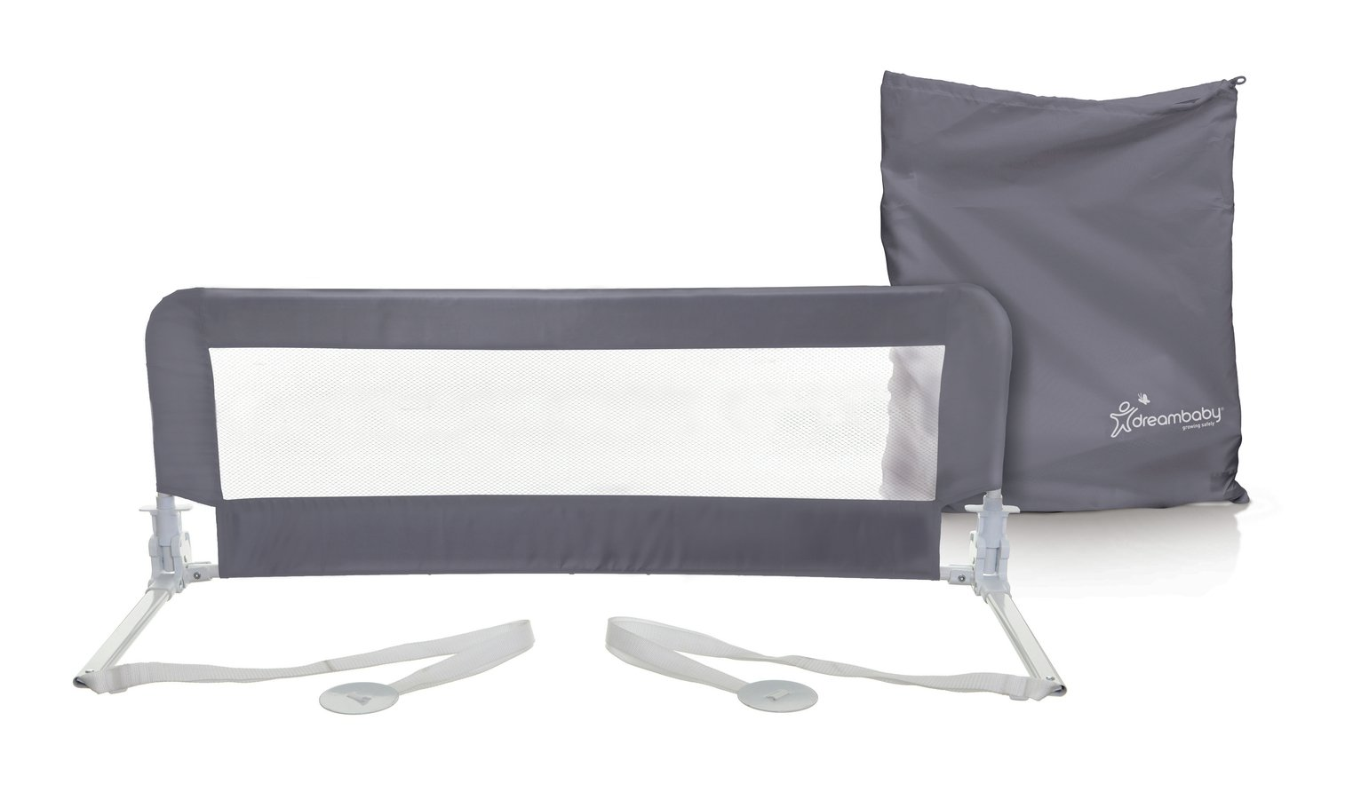 The Dreambaby Phoenix Bed Rail - Grey