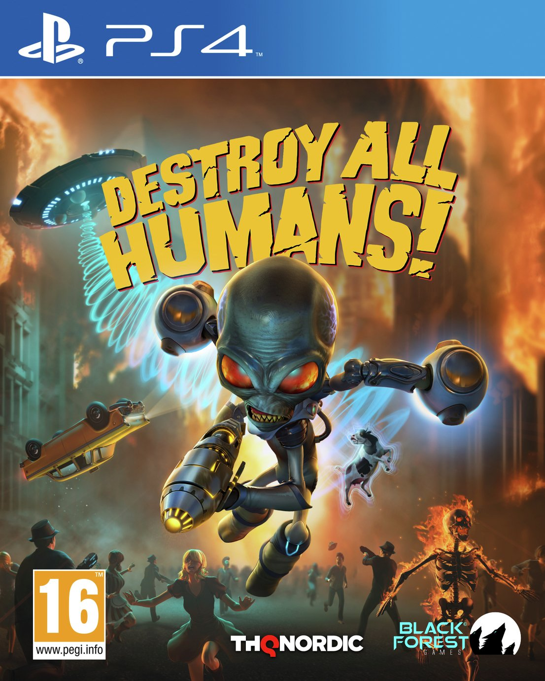 Destroy All Humans Remake PS4 Pre-Order Game
