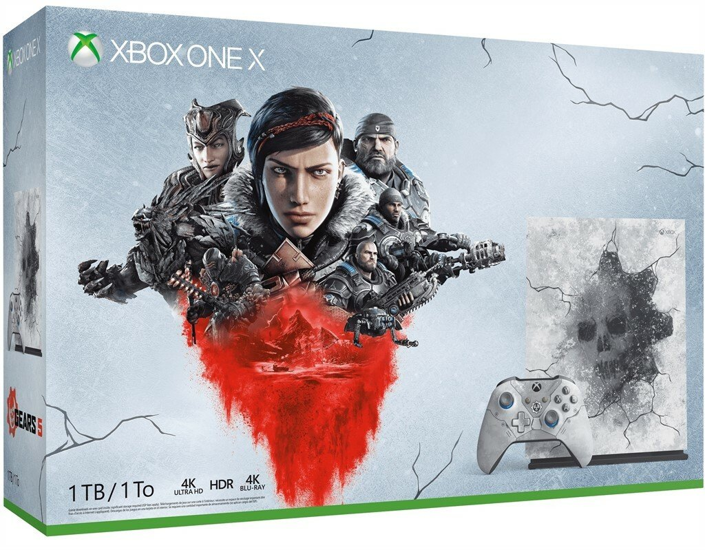 Xbox One X 1TB Console & Gears 5 Limited Edition Bundle