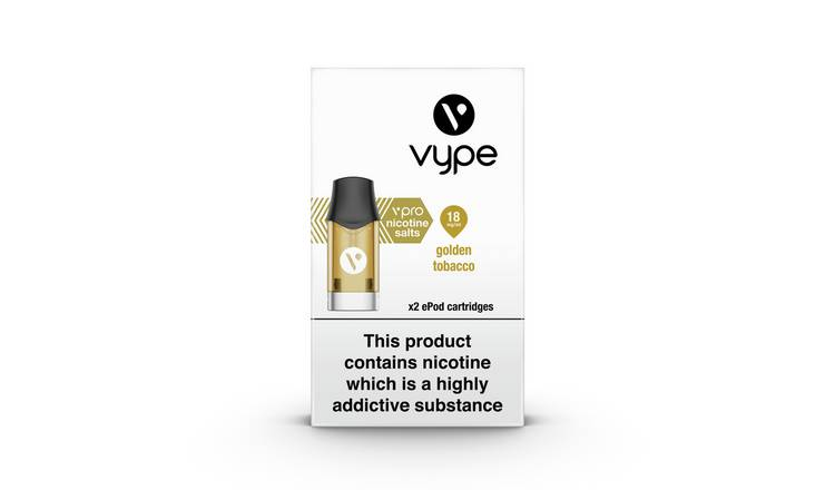 Vype Golden Tobacco Epod Refill