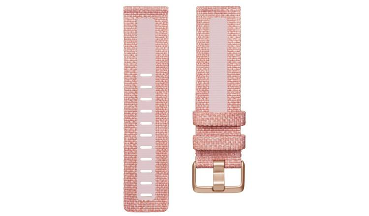 Fitbit Versa 2 Pink Woven Band - Small