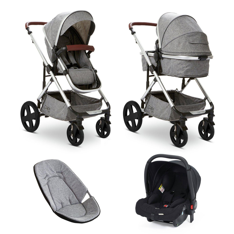 Baby Elegance Cupla Duo Travel System - Grey